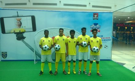 Keralites Enjoyed Healthy Quaker Oats with an Action filled Football Extravaganza