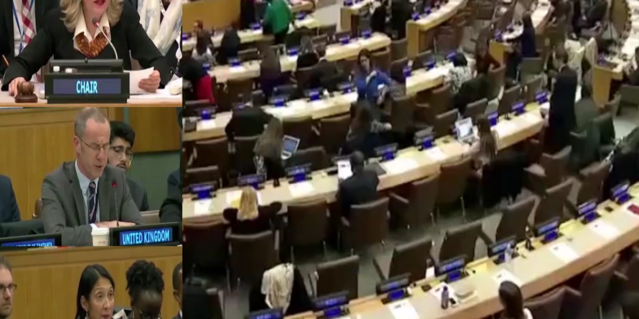 The U.N. adopted a resolution that condemns human rights violations in Iran