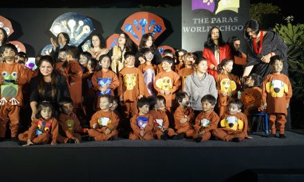 THE PARAS WORLD SCHOOL, INDIA CELEBRATES IT'S FIRST ANNUAL DAY