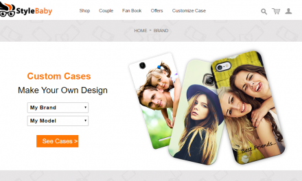 Custom Cases Option launched on Stylebaby.com