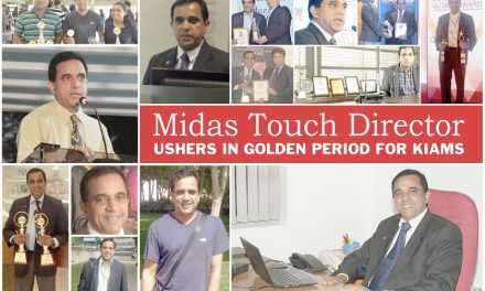 Midas Touch Director Ushers in Golden Period for KIAMS