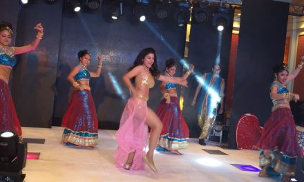 Actress Sumann ended the year with a jig in Colombo