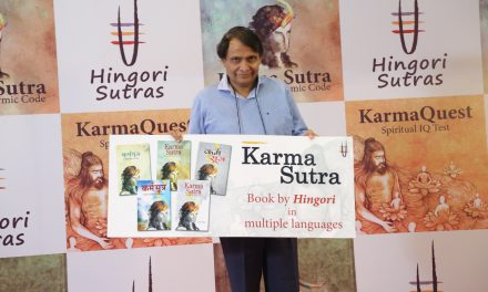 India's Railway Minister echoes the power of Karma Launches multiple language versions of the book, Karma Sutra