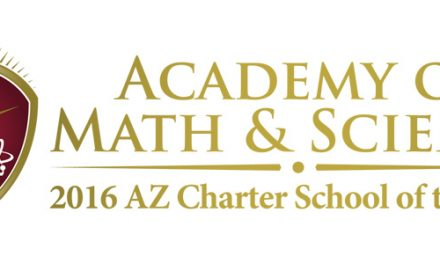 Academy of Math and Science recognized as 2016 Arizona Charter School of the Year