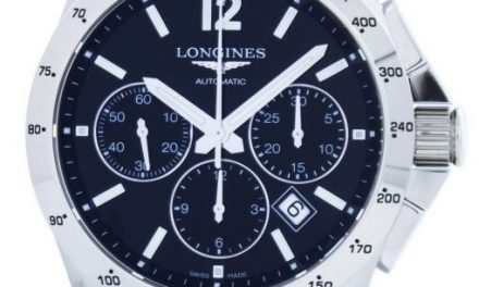 Longines Conquest Automatic Chronograph Tachymeter Scale L2.743.4.56.6 Mens Watch: Continuing The Tradition Of Elegance End Performance