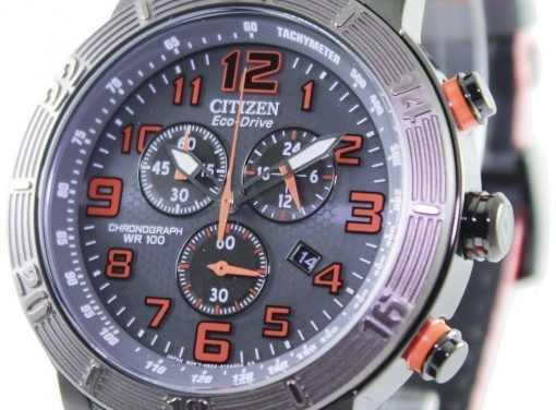 Citizen BRT Eco-Drive Chronograph Tachymeter AT2227-08H Men's Watch: Meticulous Design Meets A Striking Performance