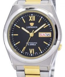 J.Springs by Seiko Automatic 21 Jewels Japan Made BEB511 Men's Watch: Nice Touches At An Affordable Price