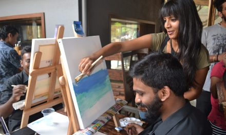 'Paint over Pint' at Three Dots and a Dash