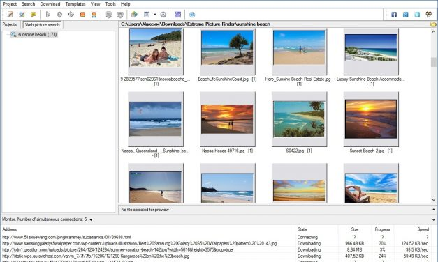 Download Images in a Click with a New Version of Extreme Picture Finder