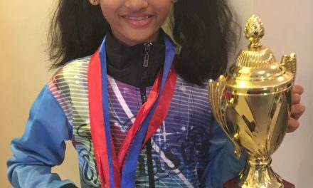 Samriddhi Ghosh, 9 Year-old Indian Prodigy in Rhythmic Gymnastics Bags Another Gold Medal And Sets Her Sights on the 2024 Olympics
