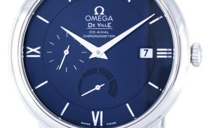 Omega De Ville Prestige Co-Axial Chronometer Automatic Power Reserve 424.13.40.21.03.001 Men's Watch: Captivating, Inspired Engineering