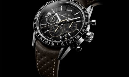 "RAYMOND WEIL Freelancer Chronograph Inspired By the ""Gibson Les Paul"" Guitar"
