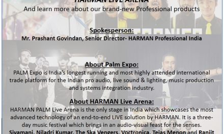 HARMAN Will Host the 3-day Musical Treat: HARMAN Live Arena 2017