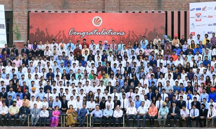 LPU celebrated Highest Placement Record for 2017 with its Students