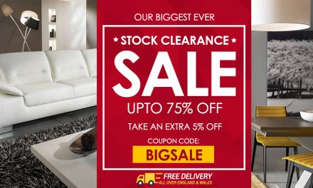 Stock Clearance Sale – Up to 75% Off at Furniture Direct UK