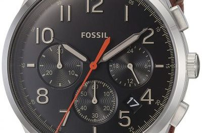 Fossil Vintage 54 Chronograph Quartz Fs5294 Men's Watch: A Sign Of How Aviation Used To Be