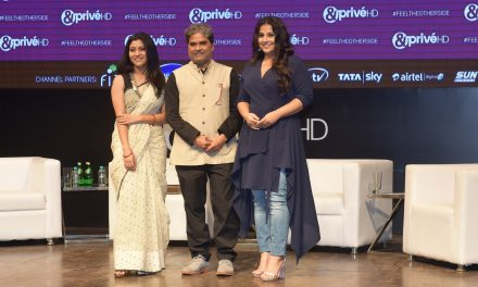 ACTOR TAPAN ACHARYA WHO IS A BIG STAR IN KONKANI FILMS AND DEBUTANTE IN MARATHI FILM INDUSTRY ATTENDS THE LAUNCH OF ZEE'S NEW MOVIE CHANNEL- &PRIVE'HD