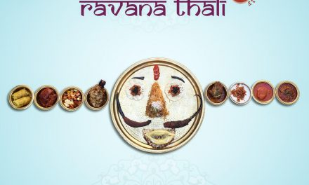 THIS DUSSHERA GET EVIL & Experience #RavanaThali only at VEDA, Connaught Place, New Delhi