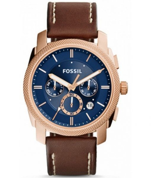 Fossil Machine Chronograph Quartz Fs5073 Mens Watch  Far From Being Distractingly Flashy
