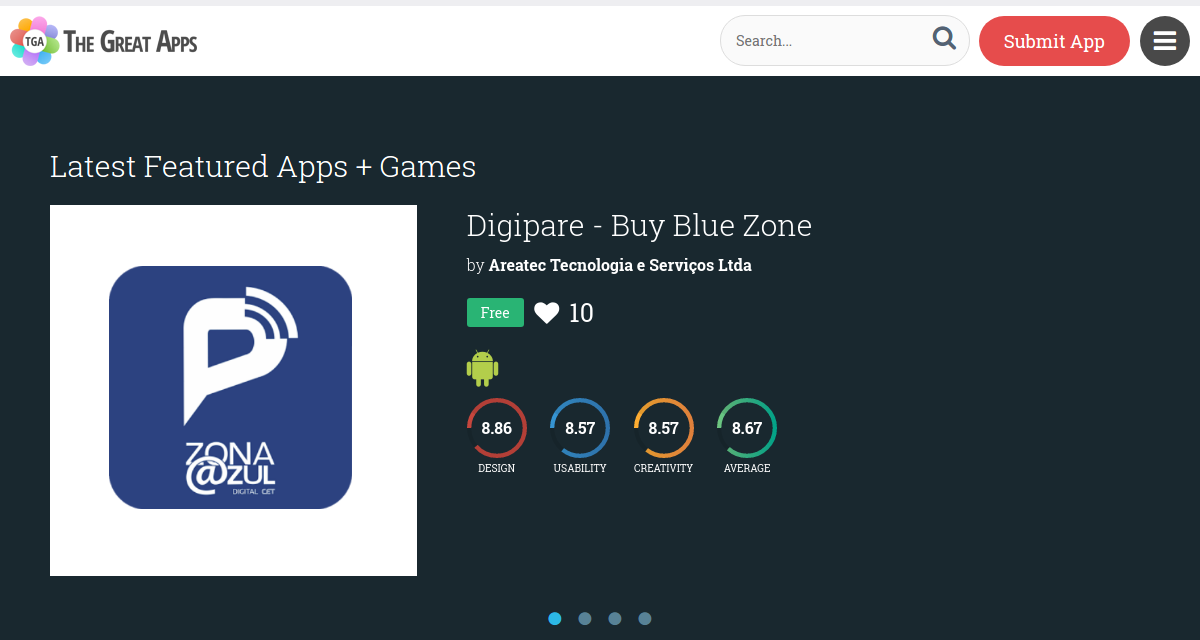 "Digipare Is Featured As One Of The Best Apps On The Website ""The Great Apps"""