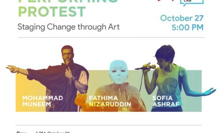 PERFORMING PROTEST: STAGING CHANGE THROUGH ART