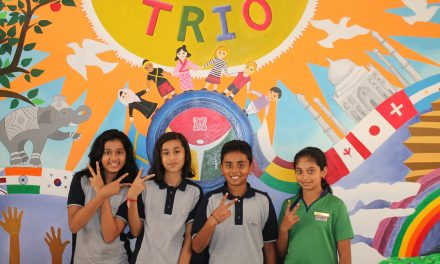 TRIO World School students represent internationally as voice of the youth