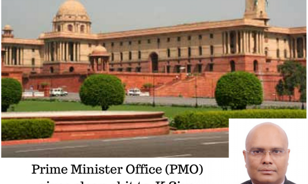 Prime Minister Office (PMO) gives clean chit to  K.Siva Prasad, IAS