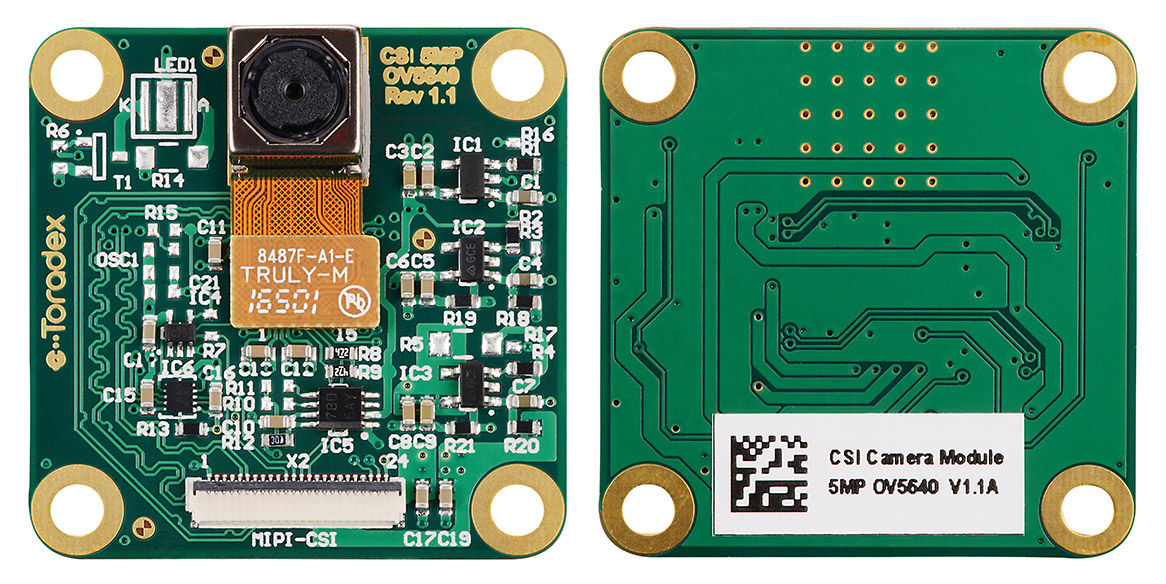 Press Release: Toradex launches Easy-to-Integrate Camera Module