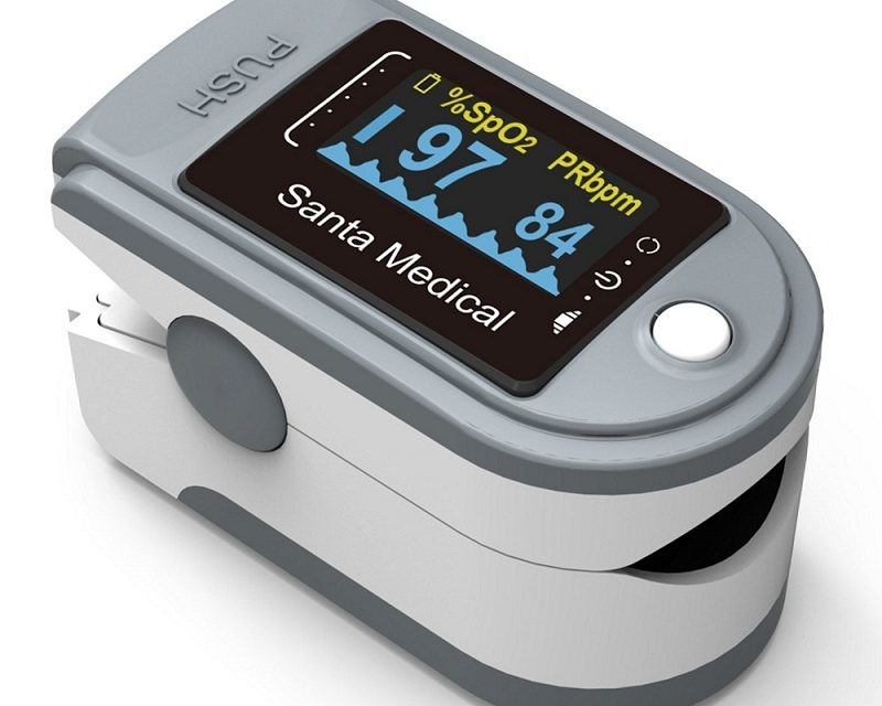 Santamedical SM-165 Pulse Oximeter Now Available On Walmart And Overstock On Offer Price