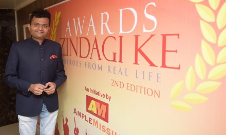 AWARDS ZINDAGI KE 2017 – In recognition of the Brave hearts from the Armed forces protecting Indian soil.Edition 2 Spearheaded by Industrialist & Philanthropist Dr. Aneel Kashi Murarka