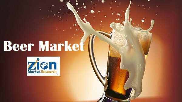Global Beer Market Expected to Reach USD 750.00 Billion Tons by 2022
