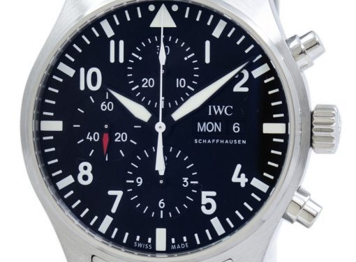 Iwc Pilot'S Chronograph Automatic Iw377710 Men'S Watch| Simply Phenomenal