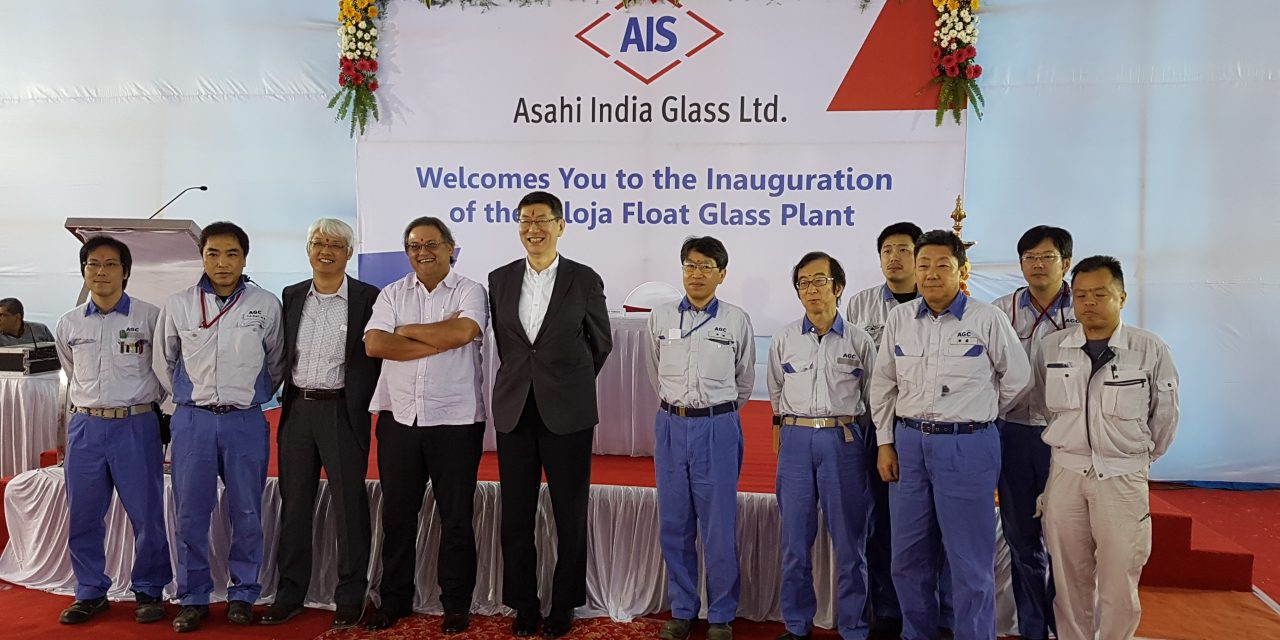 Asahi India Glass Ltd. Announces Commencement of Commercial Production at their Taloja Float Glass Plant