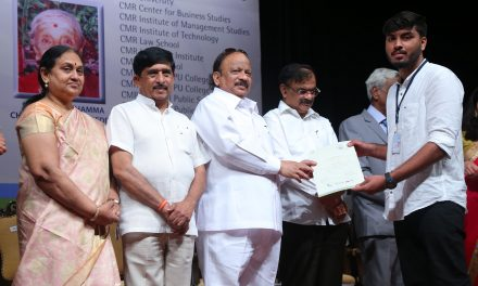 CMR Group of Institutions Awards Scholarships worth Rs. 20 lakh
