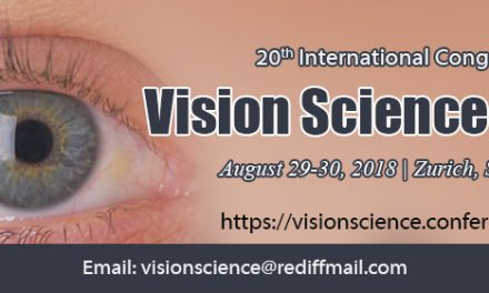 20th International Congress on Vision science and Eye