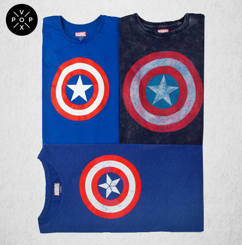 Captain America T-Shirts are taking over every man's closet