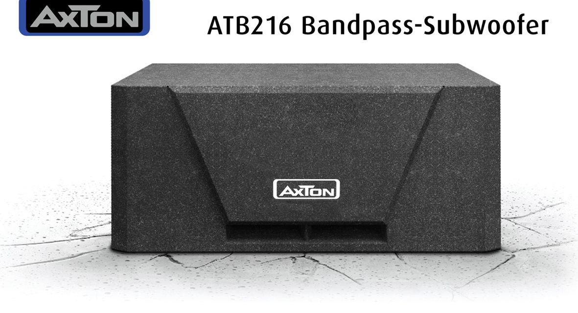 Wolf in Sheep's Clothing – AXTON's New Subwoofer ATB216