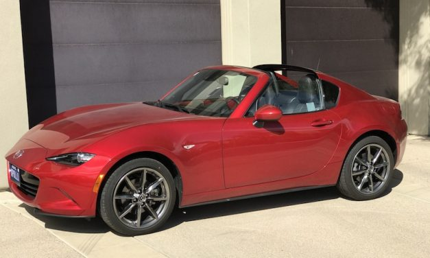 SmartTOP convertible top control for Mazda MX-5 RF enables top operation via One-Touch