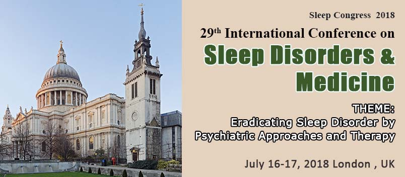 29th International Conference on Sleep Disorders and Medicine
