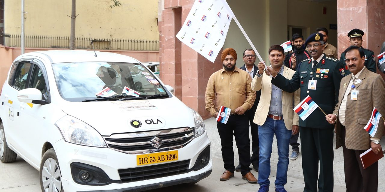 Ola and Kendriya Sainik Board kick off a special awareness drive on the eve of Armed Forces Flag Day