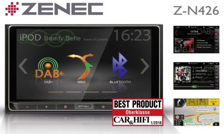 Smart 2-DIN Entertainer: ZENEC's Z-N426 is Best Product
