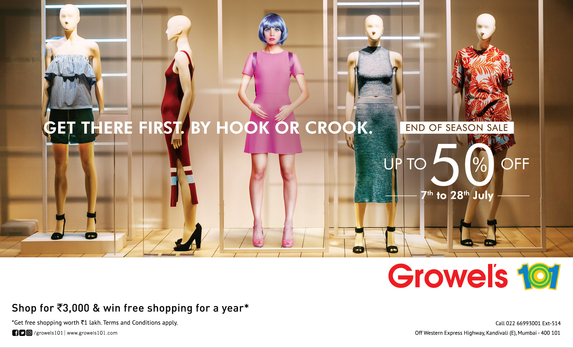 Shopaholic's Delight at Growel's 101 Mall