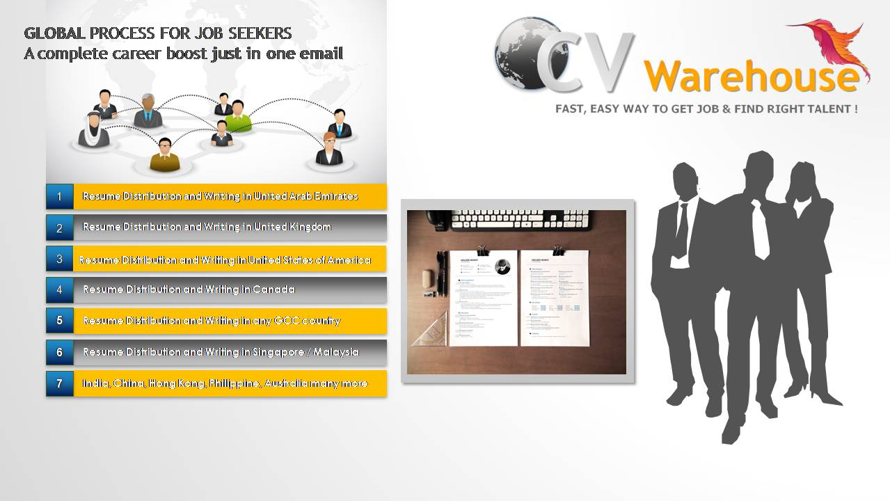 GET IDEAL JOBS IN UAE WITH CV WAREHOUSE